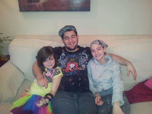 Jeff, Morgan and Haley